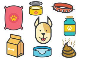 Free Dog Icons Vectors