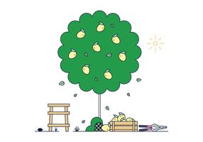 Free Lemon Tree Vector