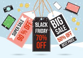 Free Black Friday Vector
