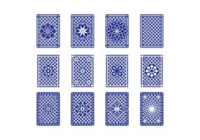 Free Playing Card Back Vector