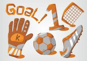 Goal Keeper Vector Set