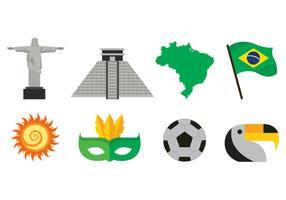 Set Of Samba Icons