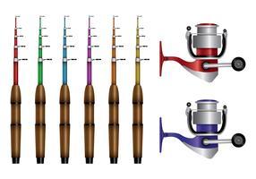 Fishing Rod Vectors