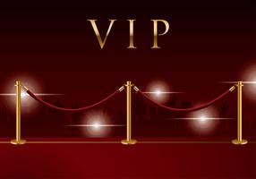 Velvet Rope Background Vector