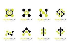 Nanotechnology Logo Vector