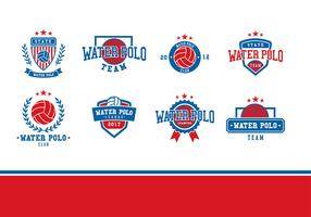 Water Polo Logo Vector
