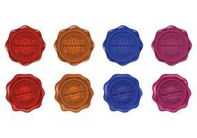 Set Of Patent Stamp