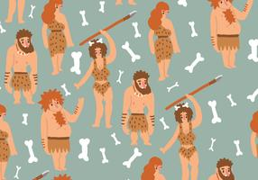 Ice Age Humans Pattern
