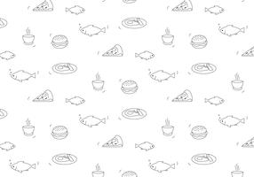 Food Vector Pattern