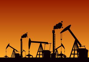 Free Oil Field Vector