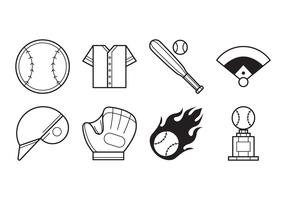 Free Baseball Icon Vector