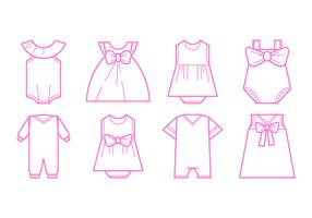 Free Baby Fashion Icon Vector
