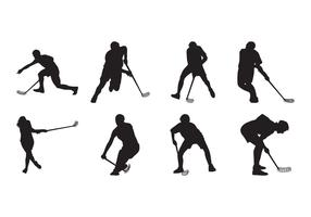 Free Floorball Silhouette Vector