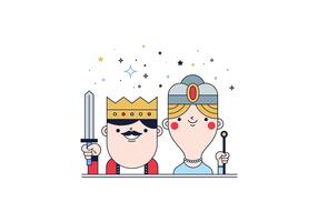 Free Kings And Queen Vector