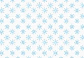 Free Vector Snowflakes Pattern