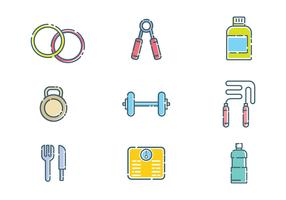 Free Fitness Vector
