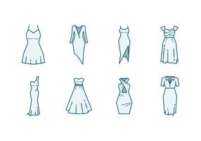 Bridesmaid Dress Icon