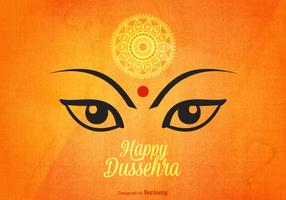 Free Happy Dussehra Vector Background