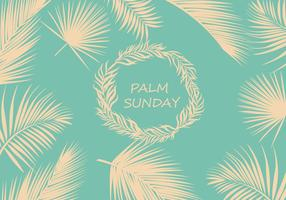 Palm Sunday Background Vector