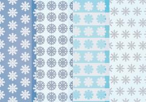 Vector Snowflakes Patterns
