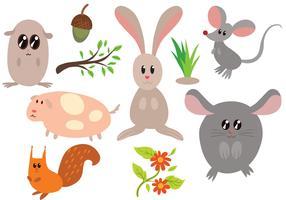 Free Critters Vectors