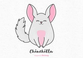 Free Cartoon Chinchilla Vector