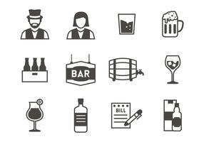 Free Bar Icons Vector