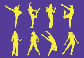 Free Zumba Icons Vector