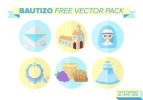 Bautizo Icons Free Vector Pack
