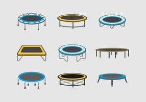 Trampoline vector stock