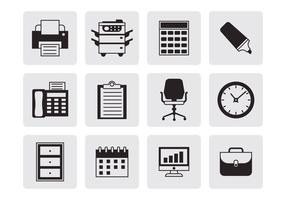 Free Office Icons Vector