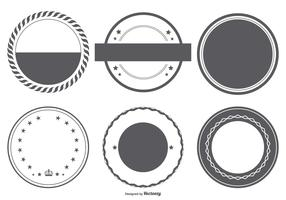Vector Badge Shapes Collection