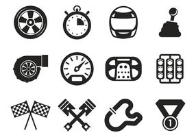 Free Race Car Icons Vector