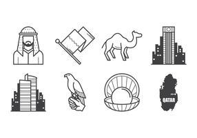 Free Qatar Icon Vector