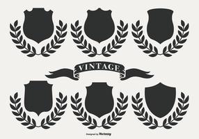 Etiquetas retro do vintage