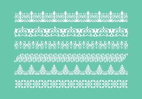Free Lace Trim Icons Vector