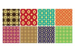 Free Songket Seamless Pattern Vector