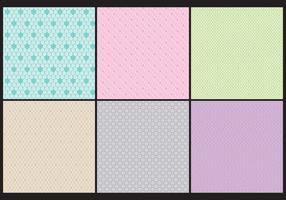 Monochromatic Toile Patterns