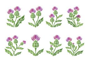 Thistle Icons