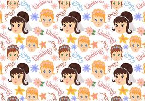 Free Wedding Pattern Vectors