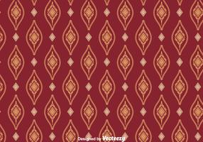 Songket Ornament Seamless Pattern Vector