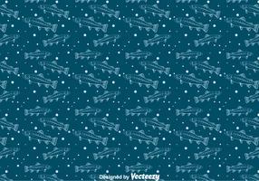 Trout Seamless Pattern