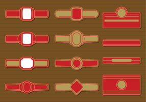Cigar Label Vector