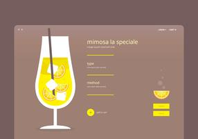 Mimosa Webpage Template
