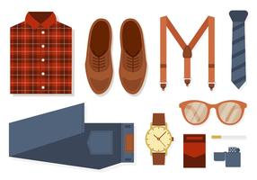 Free Retro Fashion and Accessories Vector