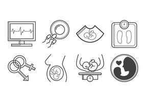 Free Pregnancy Icon Vector