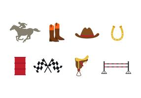 Free Barrel Racing Icons