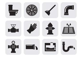 Free Sewerage Icons Vector