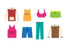 Free Tracksuit Sports Wear Vector