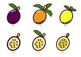 Free Passion Fruit Vector